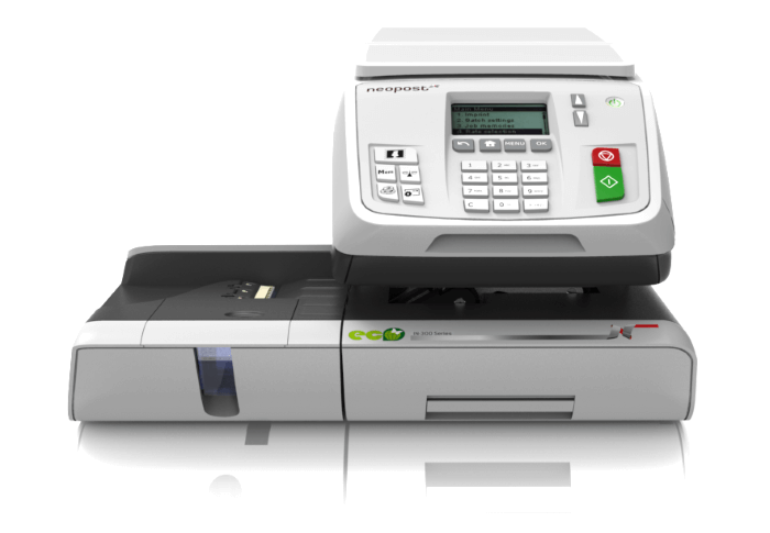 Neopost IN-360 one of many franking machines you can rent